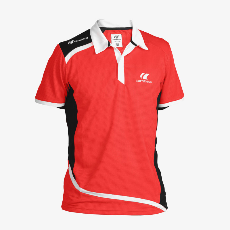 Polo Contest Homme - Rouge