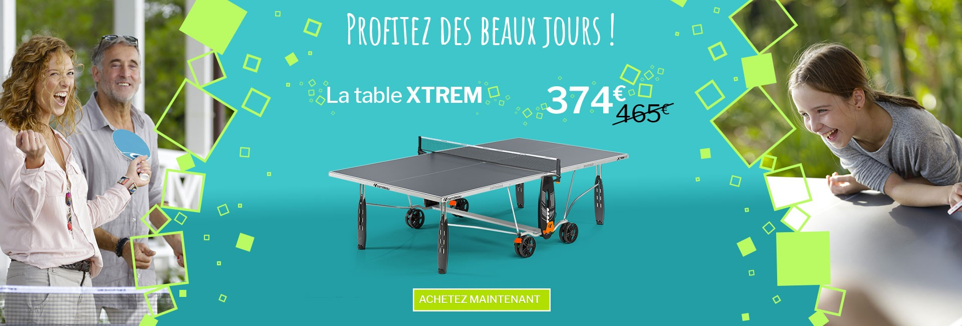 Table Xtrem Outdoor